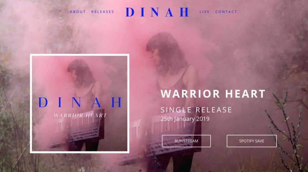DINAH WARRIOR HEART